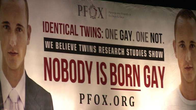 Vidéo. Quand un homosexuel «fier et heureux» se retrouve à l'affiche d'une campagne vantant les «thérapies de réorientation sexuelle»