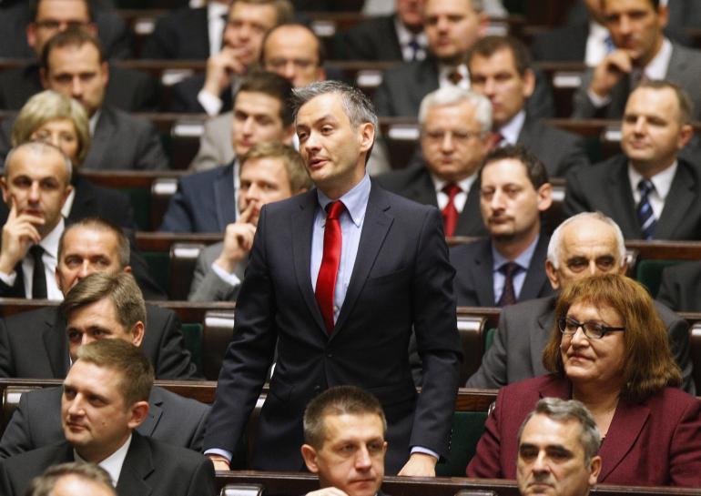 Robert Biedron, 38 ans, premier maire polonais ouvertement homosexuel