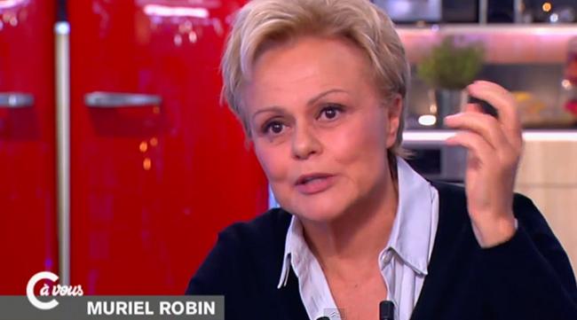 Entretien. Dans « C à vous » sur France 5, Muriel Robin évoque son homosexualité