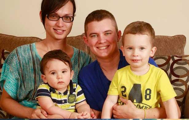 Bianca Bowser, son mari Nick et leurs deux enfants, Kai et Pax : une famille comme toutes les autres