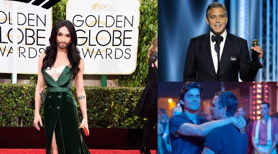 Golden Globes 2015 : De Conchita Wurst à «Charlie Hebdo» le meilleur de la télé dans toute sa diversité
