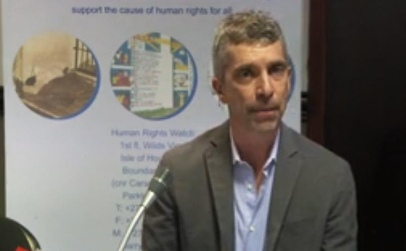 """""""Human Rights Watch"""" dénonce l'homophobie institutionnalisée en Afrique"""