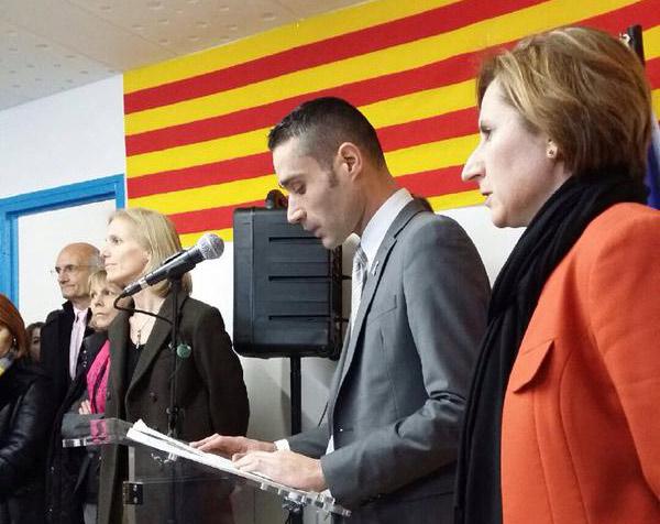Inauguration à Perpignan des locaux d'accueil de jour de l'antenne du Refuge