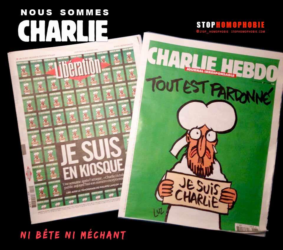 Ruée chez les kiosquiers : Nous sommes Charlie, pour la liberté tout simplement !