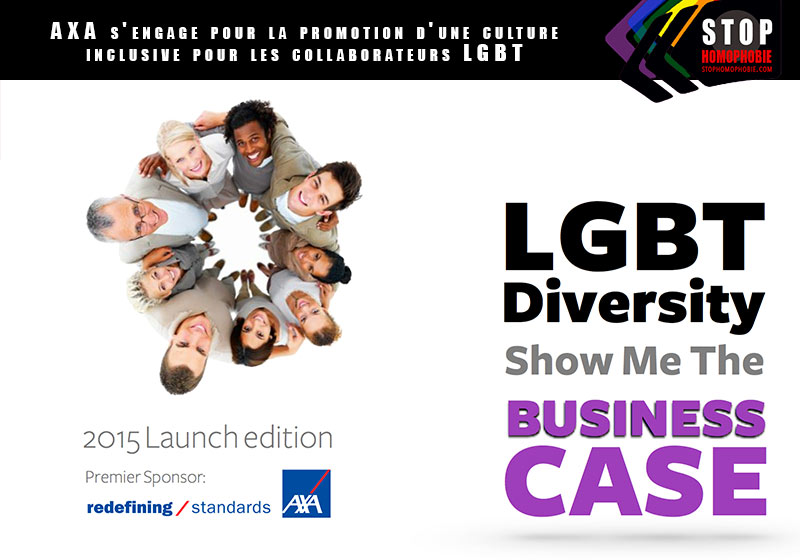 AXA s'engage pour la promotion d'une culture inclusive pour ses collaborateurs LGBT