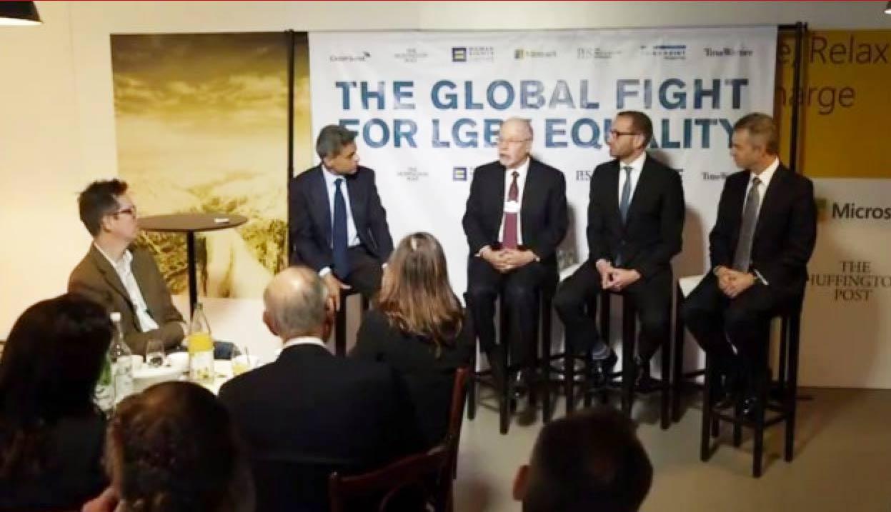 Forum de Davos : les chefs d'entreprises s'engagent pour les droits des homosexuels !