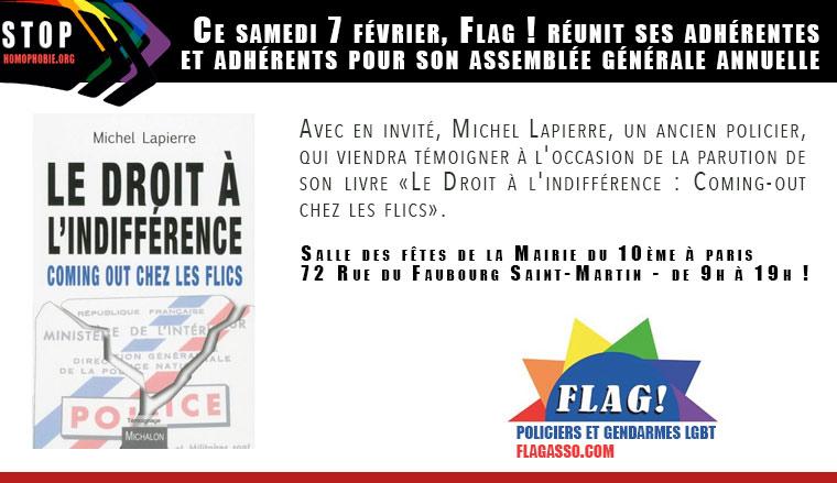 Ce 7 février, Flag ! réunit ses adhérentes et adhérents pour son assemblée générale annuelle