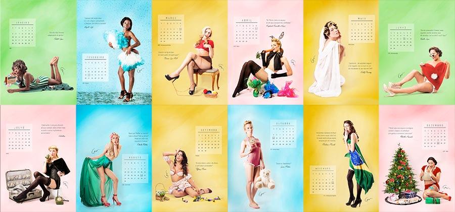 Au Brésil : des étudiants créent un calendrier mettant en vedette des modèles transgenres