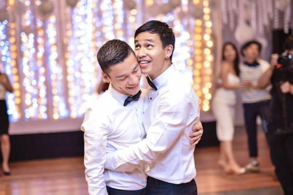 """Photos. Le Vietnam célèbre avec glamour son premier """"mariage gay"""""""