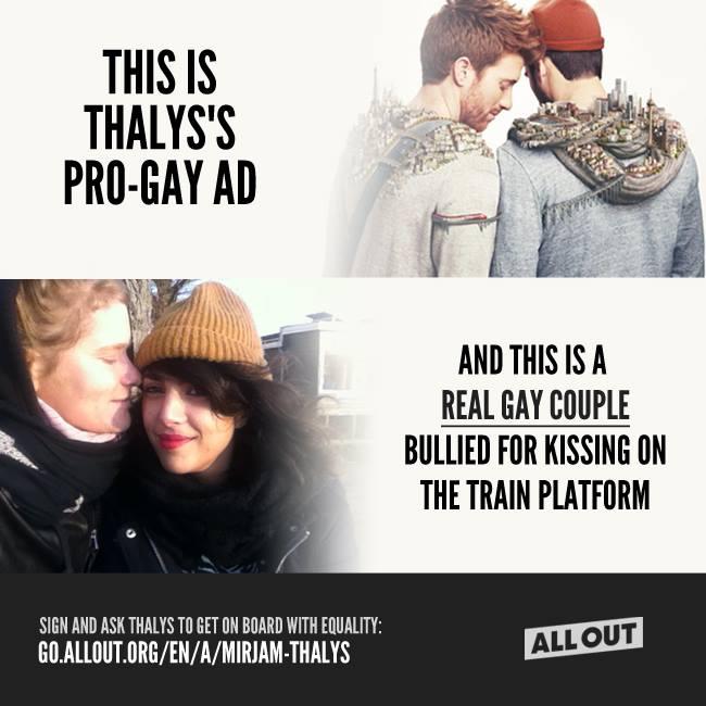 Un employé de Thalys déraille face à un couple de lesbiennes : Il est suspendu