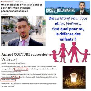 Arnaud Couture, manif pour tous