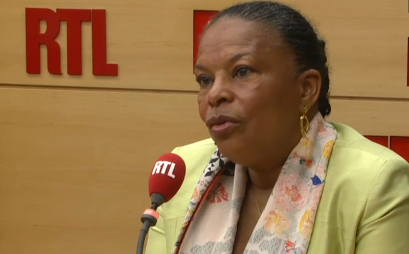 Christiane Taubira conteste la nature démocratique et républicaine du FN