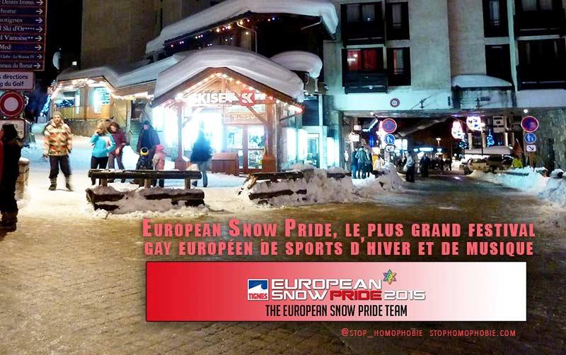 Vidéo. Savoie : 3ème édition de l'European Snow Pride