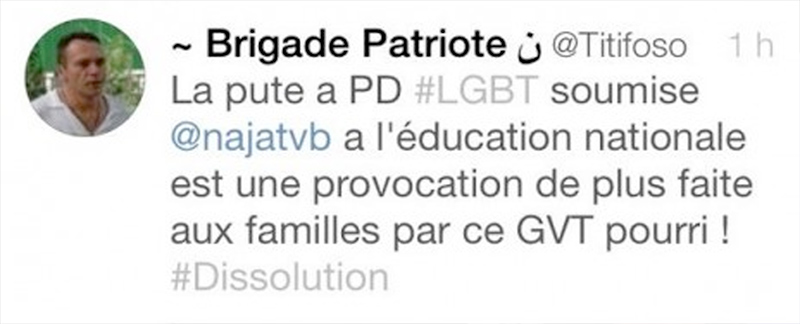Départementales : Le PS dénonce les propos homophobes du candidat FN en Seine-Saint-Denis