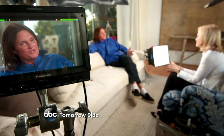 """Vidéo. """"Au fond, je suis une femme"""" : Bruce Jenner se confie sur la chaîne ABC"""