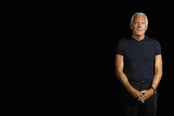 Selon Giorgio Armani, un «homosexuel est un homme à 100%, et n'a pas besoin de s'habiller en homo»