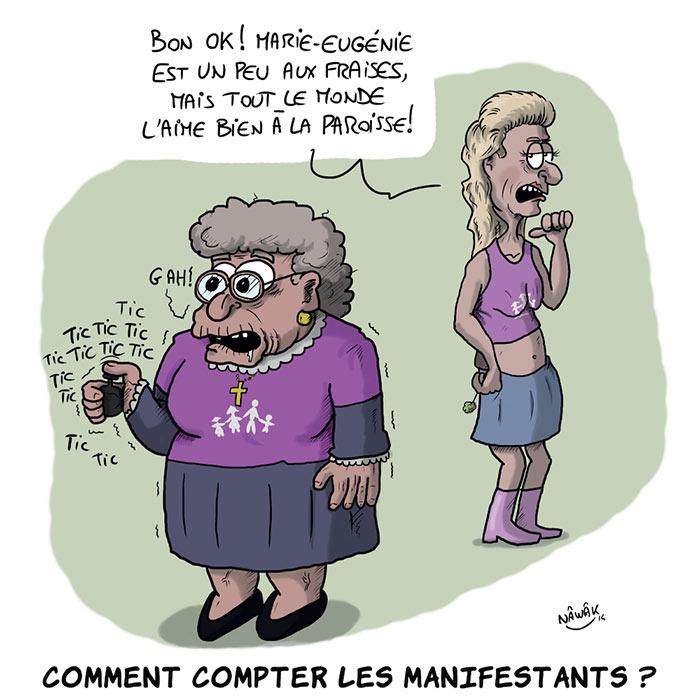 Comptage des manifestants contre le mariage pour tous : du fantasme à la réalité des chiffres !