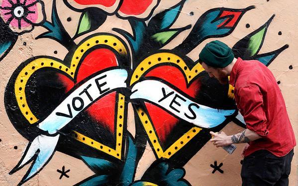 Trois millions d'électeurs irlandais consultés sur la question du mariage pour tous