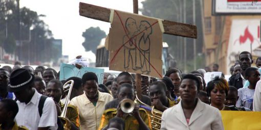 En Ouganda, les évangélistes en croisade contre la pornographie et l'homosexualité