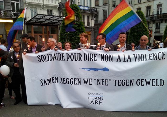 Belgique : Plus d'une centaine de personnes ont marché contre les violences homophobes