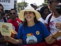 Un millier de manifestants dans les rues de La Havane, pour la «8e marche contre l'homophobie et la transphobie»