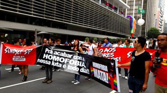 São Paulo : Une grève contre l'homophobie qui se traduit par un exemple de solidarité !