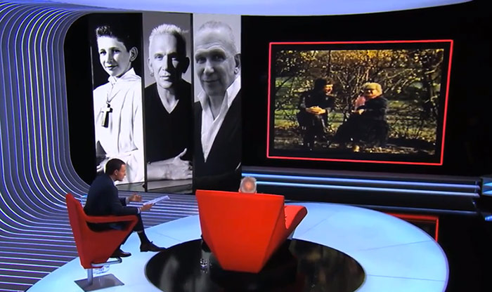 Sur France 3 : Jean-Paul Gaultier s'allonge sur le Divan de Marc-Olivier Fogiel