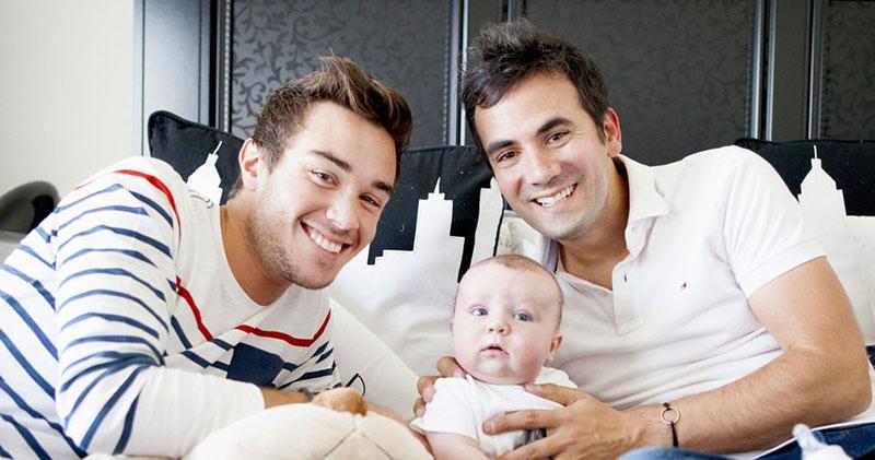 Exclu Gala – Alex Goude : « Avec Romain, on aimerait un second enfant »