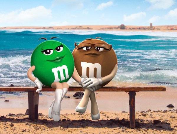 Coming out chez les M&M's : En ce mois des fiertés « Ms. Brown » et « Ms. Green » dévoilent leur amour