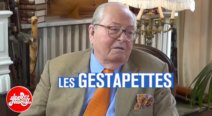 Jean-Marie Le Pen victime des «GesTapettes» : Ces «préposés» de M. Philippot, chargés d'espionner au sein du FN