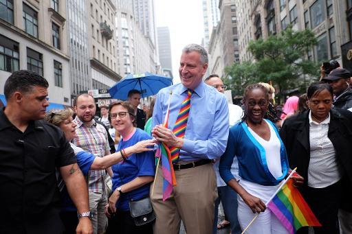 La Gay Pride de New York célèbre la légalisation du mariage homosexuel