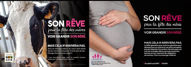 Le rêve de la « Manif pour tous » pour « la fête des mères » : mis en demeure pour détournement
