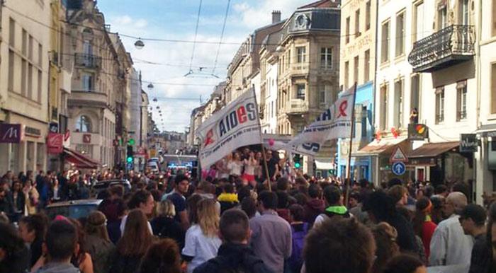 Plus de trois milles personnes à Nancy et Grenoble pour la marche des fiertés !