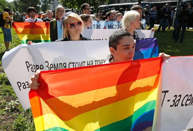 Par manque de sécurité, la seconde Gay Pride de l'histoire de l'Ukraine risque de nouveau d'être annulée