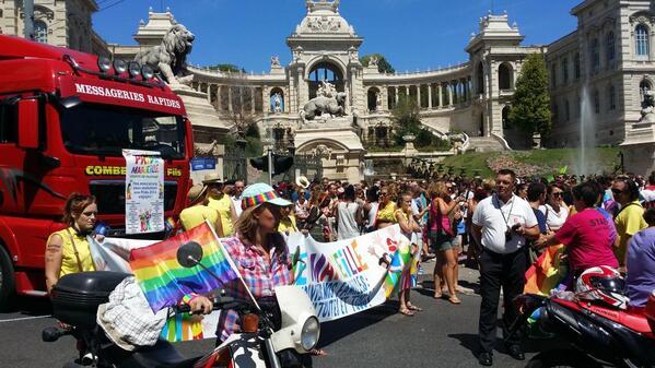 Marseille : Des milliers de personnes pour la 22e édition de la marche des fiertés