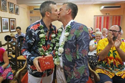 """Cabestany : """"Mariés"""" symboliquement en 2011, Guillaume et Patrick se sont enfin unis légalement"""