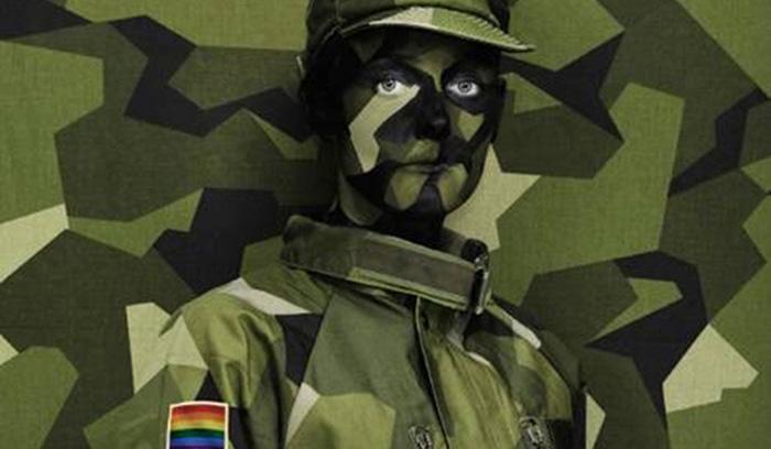 Quand l'armée suédoise invite son personnel LGBTI à ne plus « se camoufler »