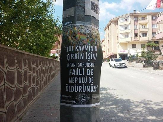 Turquie : A Ankara, des affiches qui menacent de mort les homosexuels