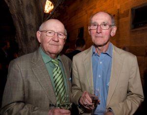John Challis et Arthur Cheeseman