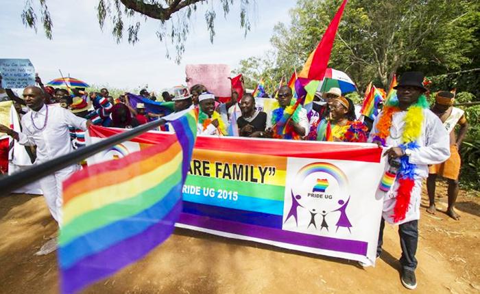 """Ouganda : une """"Pride"""" pour célébrer l'abandon de la loi anti-homosexualité"""