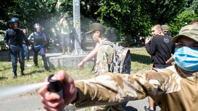 Ukraine : Après l'interdiction de la Gay Pride, des LGBT agressés lors d'une conférence à Odessa