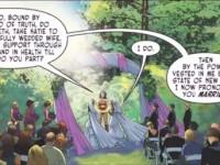 DC Comics : Quand Wonder Woman célèbre un mariage entre deux femmes