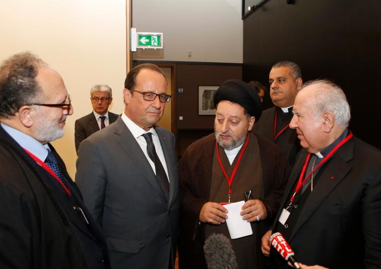 Conférence sur les victimes de violences religieuses et ethniques au Moyen-Orient