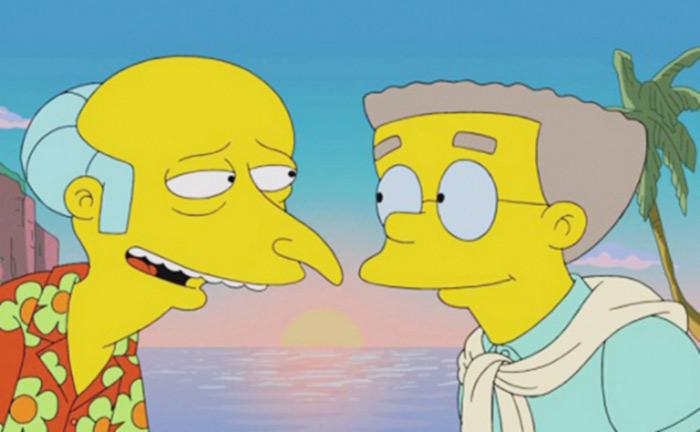 A Springfield : Smithers Jr. des « Simpson » devrait faire son coming out