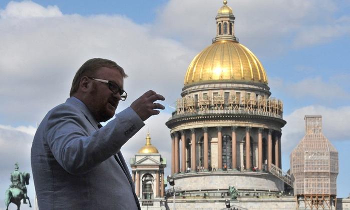 Russie : Vitali Milonov, député ouvertement homophobe, décoré par Vladimir Poutine