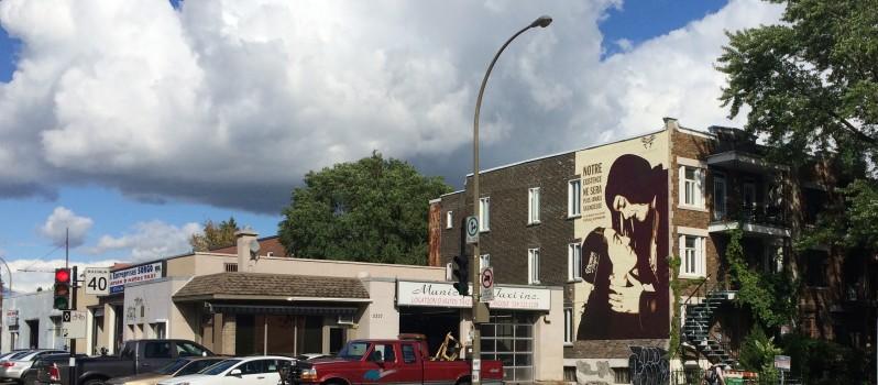 Témoignage artistique : Une première fresque murale à Montréal pour célébrer l'amour entre deux femmes