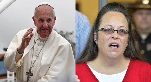 États-Unis : Quand Kim Davis révèle à la télévision avoir secrètement rencontré le pape François