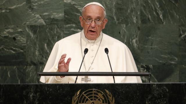 Genre et mariage gay? A l'ONU le Pape dénonce des «modèles de vie irresponsables»