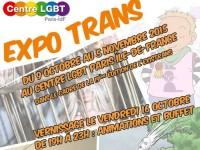 Visibilité artistique : Dans le cadre de l'EXISTRANS, le Centre LGBT Paris-ÎdF organise une exposition
