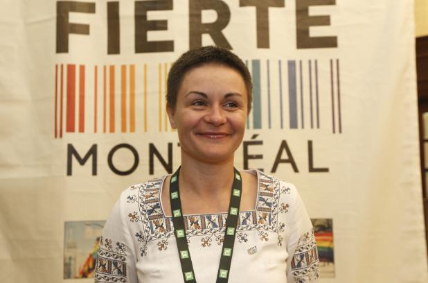 Portrait : Anna Sharyhina, militante et directrice de la marche de la fierté LGBT en Ukraine